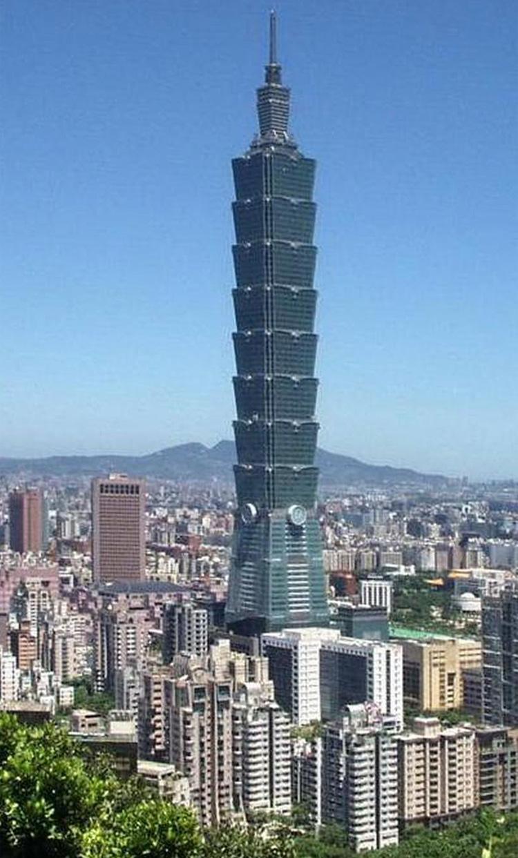 Башня Taipei 101
