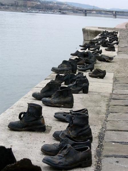 """Скульптура """"Бронзовая обувь"""""""