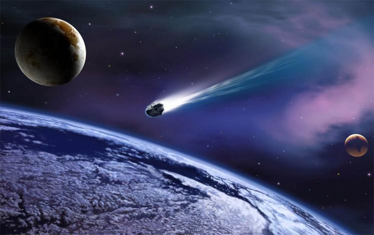 Комета - одна из основных угроз