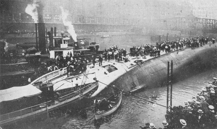 Американский корабль «Истленд»