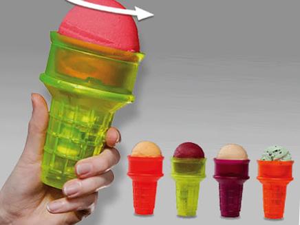 Механический рожок для мороженого