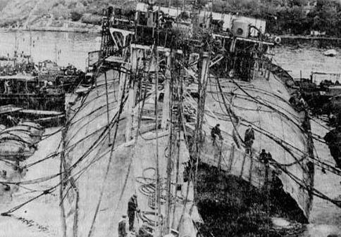 Советский линкор Новороссийск