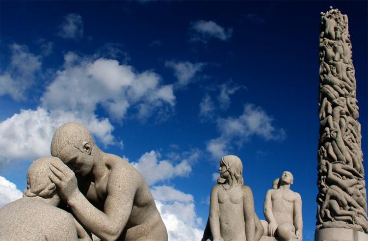 Скульптуры в Осло