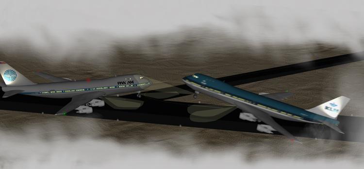 Столкновение самолетов в Тенерифе
