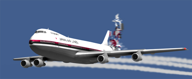 Крушение японского Боинга 747 в 1985 году