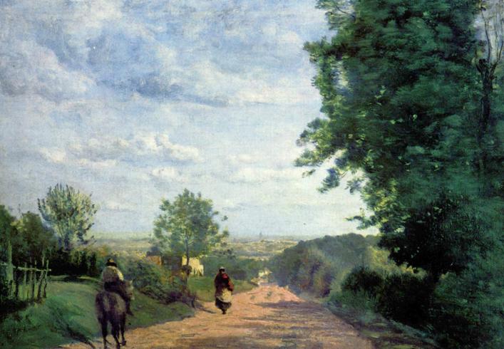 Дорога в Севр