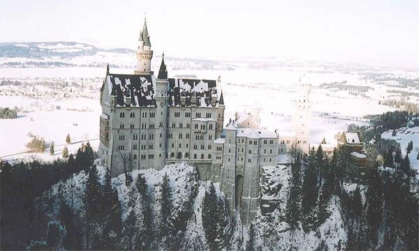 Замок короля Людвига II