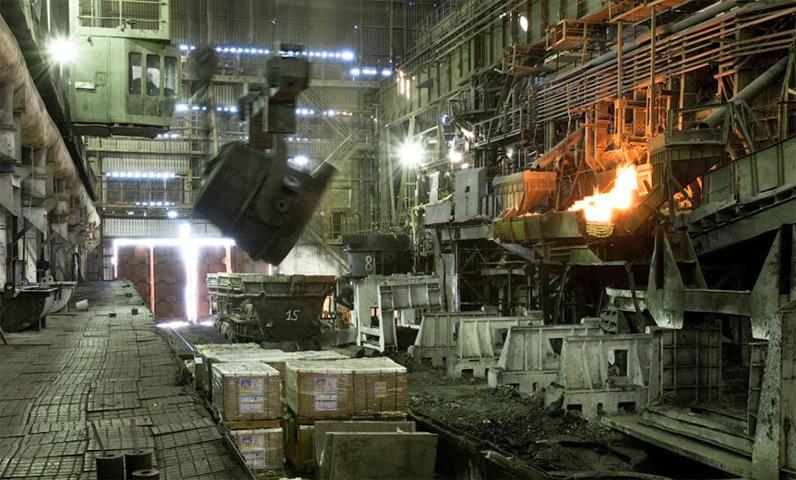Россия  - выплавка стали
