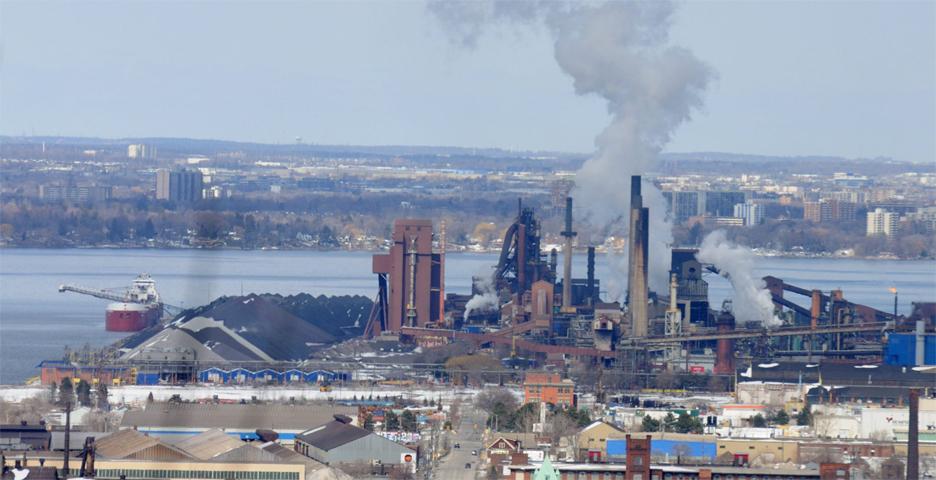США - производство стали