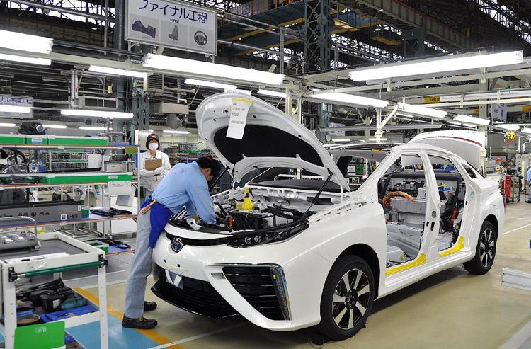 Производство авто в Японии