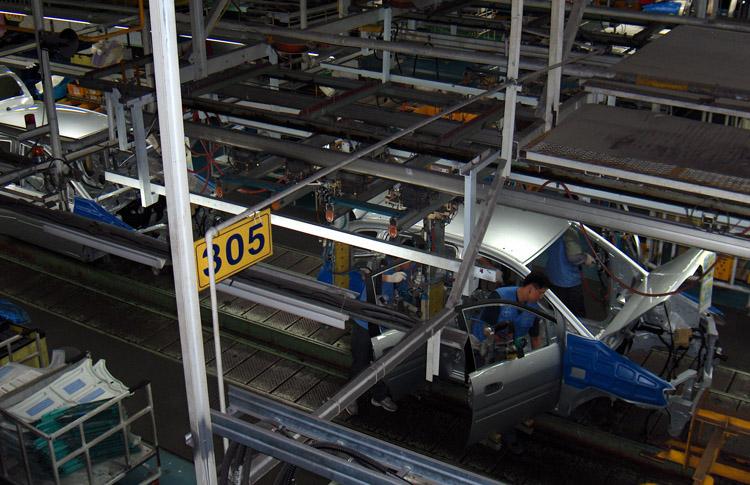 Производство в Корее