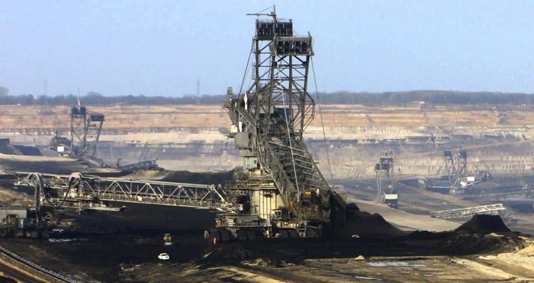 Добыча угля в Германии