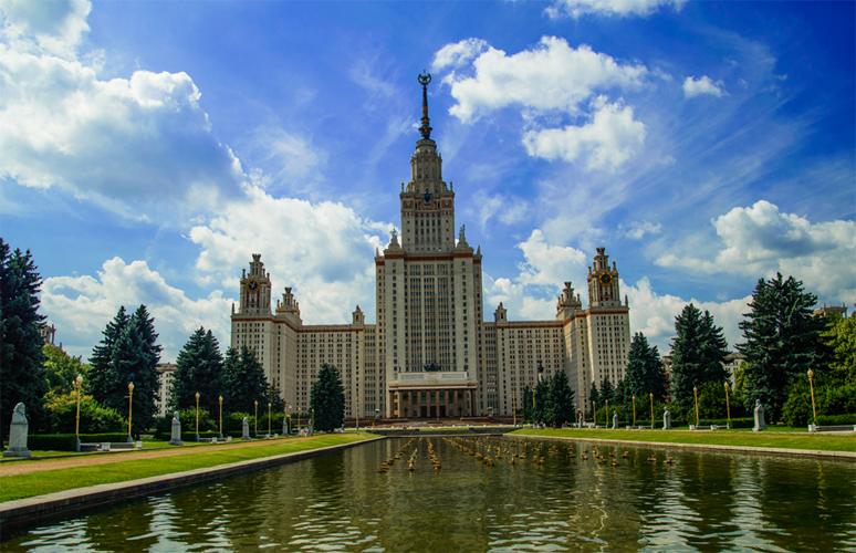 Смотровая площадка МГУ