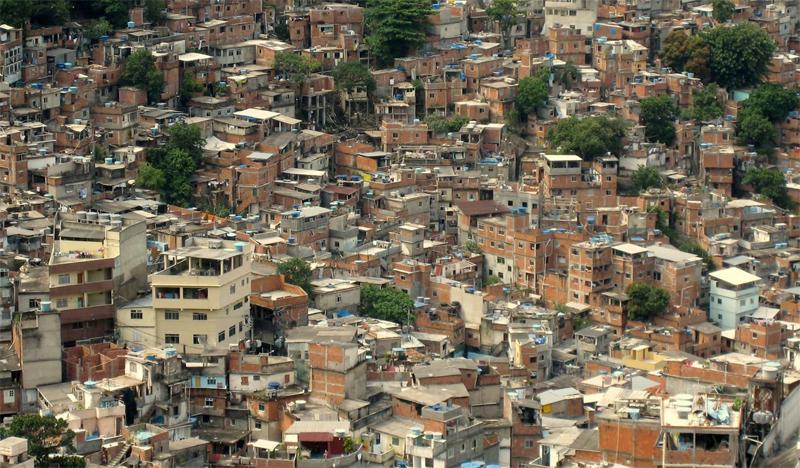 Трущобы в Бразилии