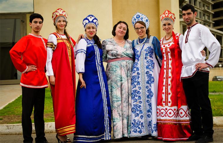 Русские в алжире