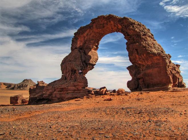 Пустыня в алжире