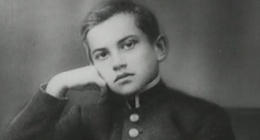 Маяковский в детстве
