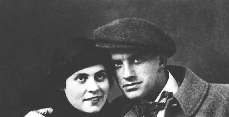 Маяковский и Лилия Брик
