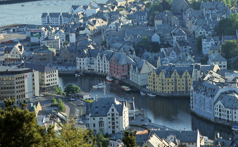 Город в Норвегии