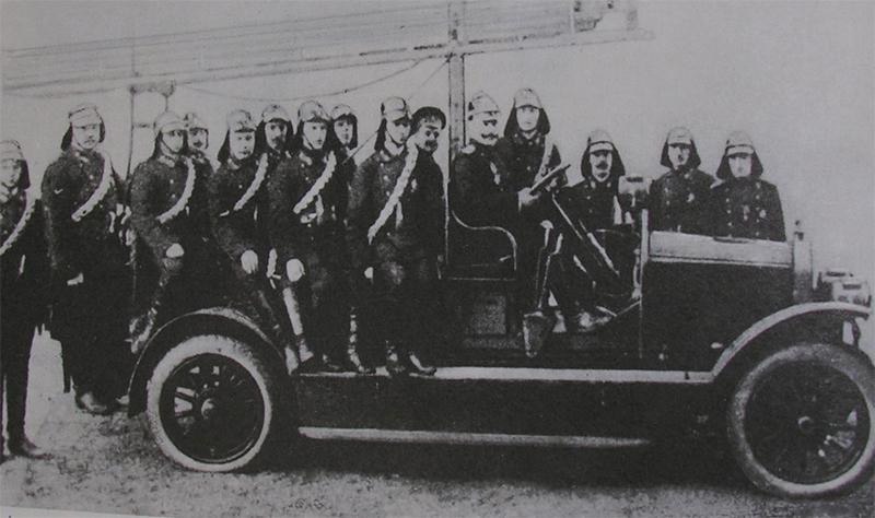 Старые пожарные