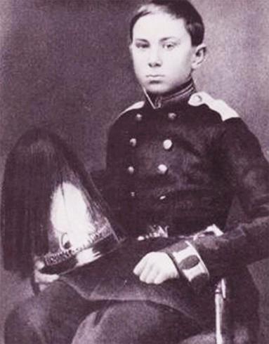 Римский Корсаков в детстве