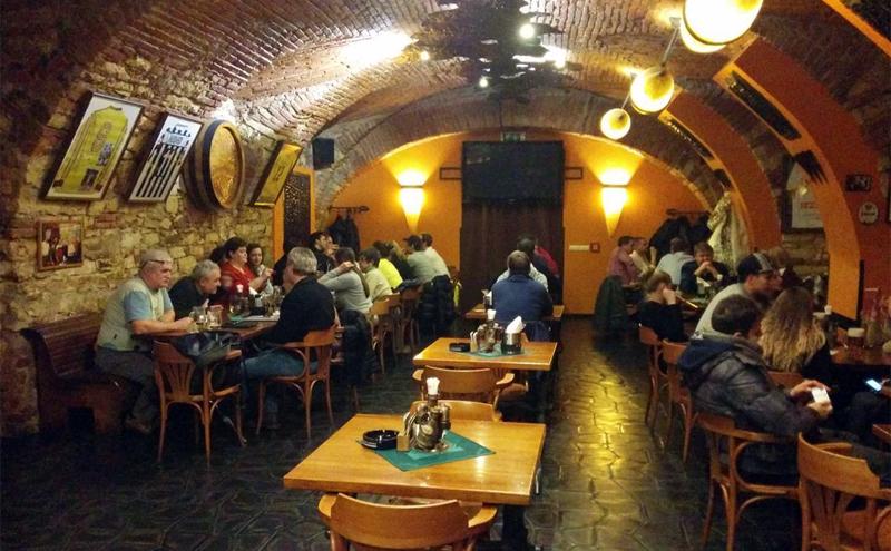 Ресторан в Чехии