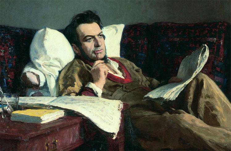 Михаил Глинка дома