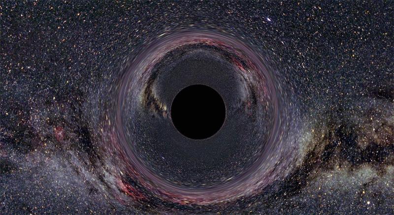 Большая черная дыра