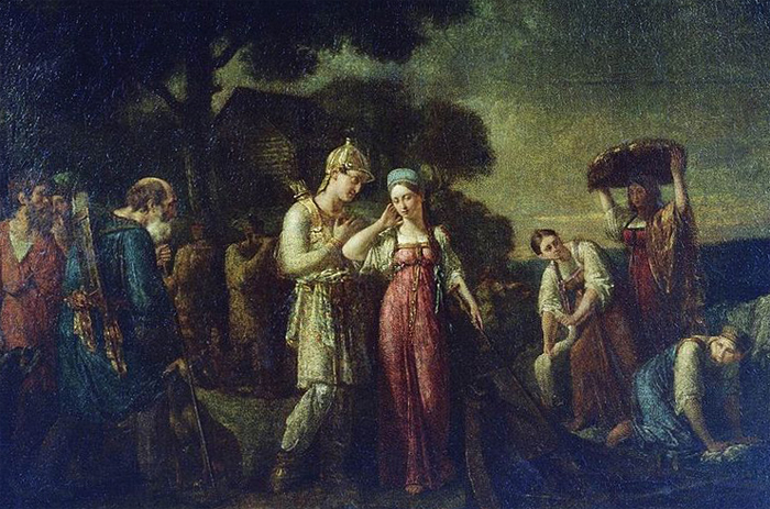 Знакомство княгини Ольги и Игоря