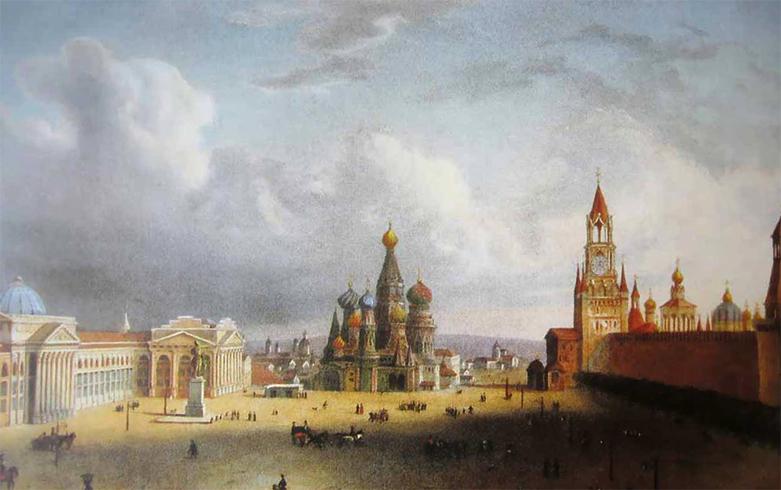 Старая красная площадь