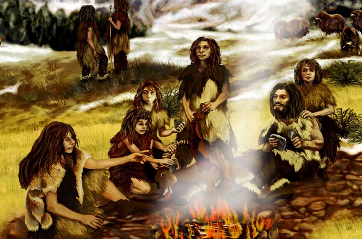Образ жизни древних людей