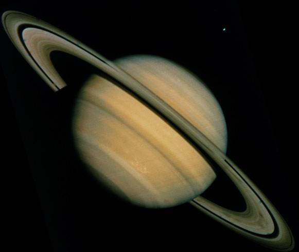 Сатурн с ветром