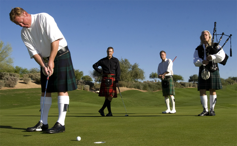 Scottish golf tournament