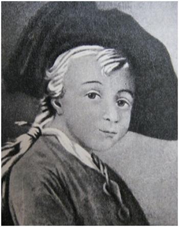 Александр Васильевич Суворов в детстве
