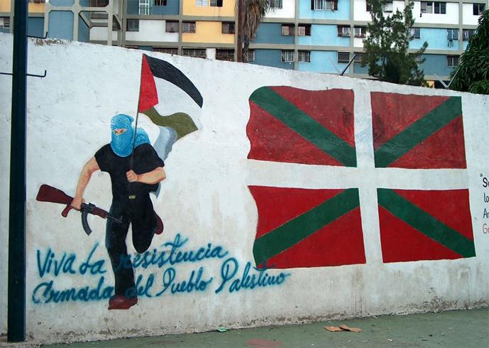 Граффити в Венесуэле