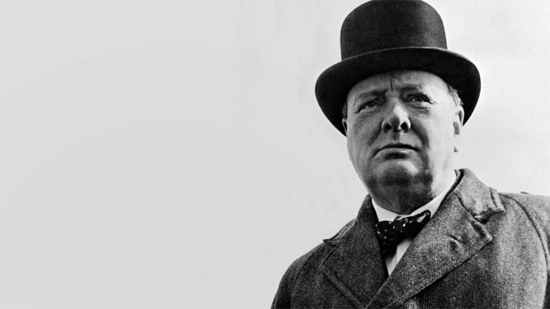 Черчилль в шляпе