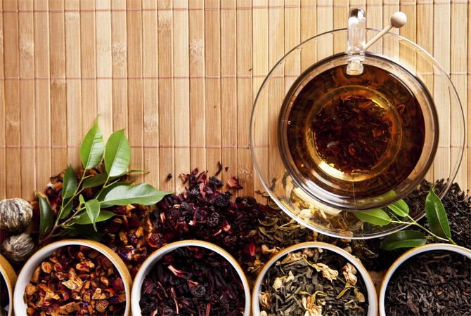 Разный чай