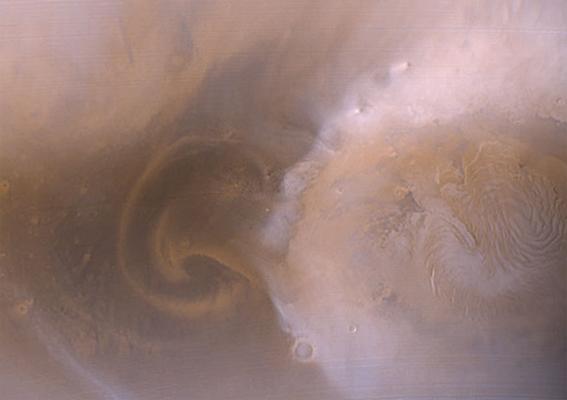 Буря на Марсе