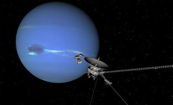 Снимок Нептуна
