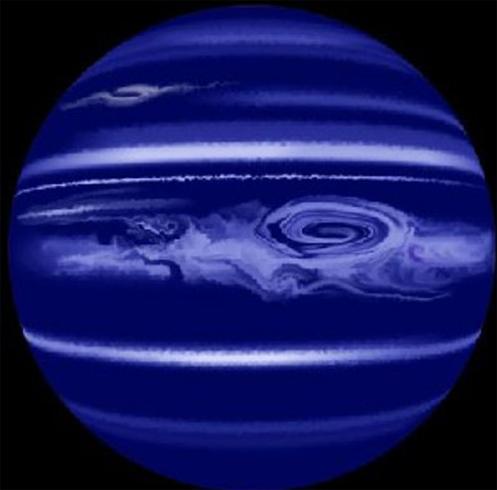 Ураган на Нептуне