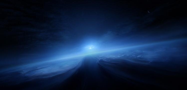 Поверхность Нептуна