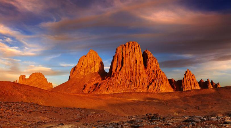 Горы Сахары