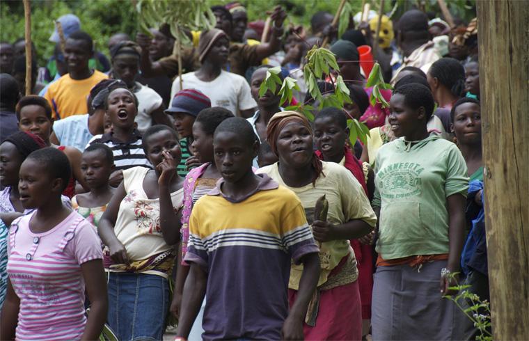 Люди Уганды