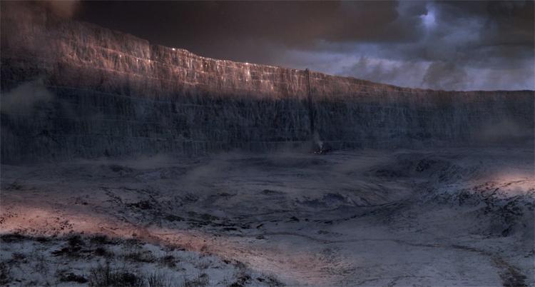 Стена из игры престолов