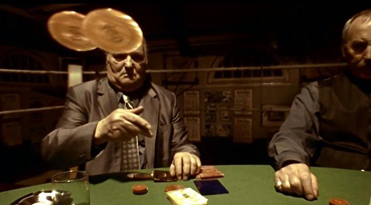Карты, деньги, два ствола