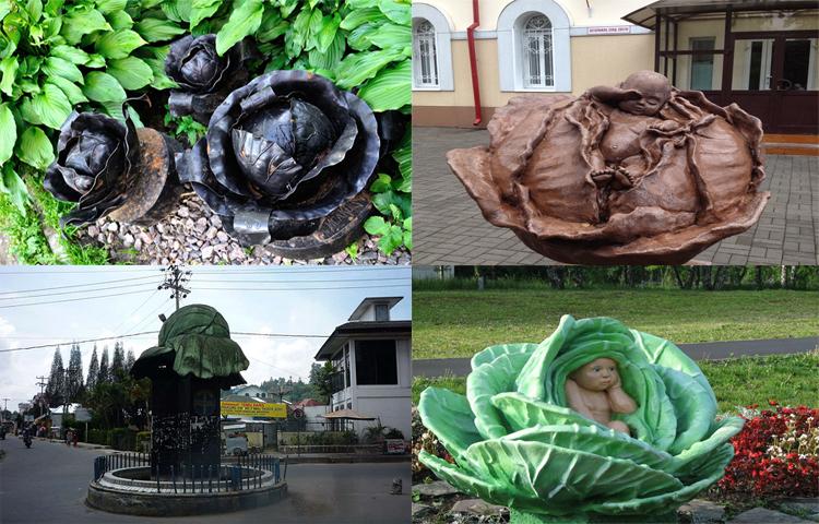 Памятники в честь капусты