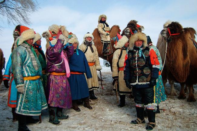 Племя монголов