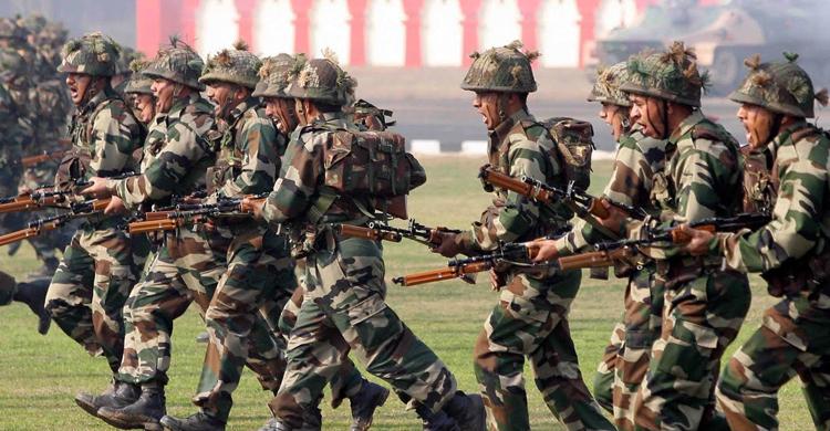 Солдаты Индии