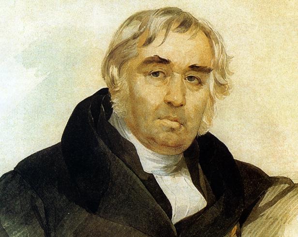 Иван Андреевич сидит