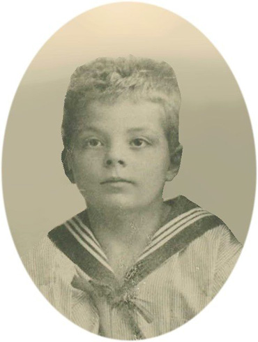 Маленький Антуан де Сент-Экзюпери
